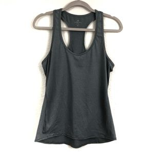 Athleta Racerback Tank Top Gray Gym Athleisure GUC